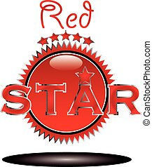 stern, rotes