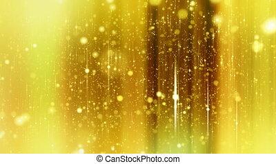 sternen, hintergrund, gelber