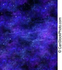 sternenhimmel, hintergrund, raum