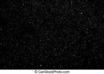 sterretjes, in, de, avond lucht, melkweg, melkweg