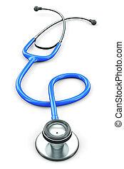 stethoscope, 3d