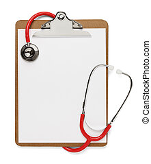 Stethoscope Clipboard