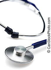Stethoscope close-up