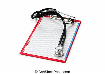 stethoscope, concept, medisch