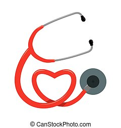 stethoscope design - stethoscope graphic design , vector...