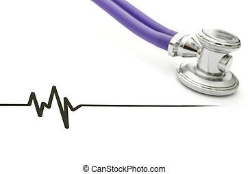 stethoscope, en, ecg