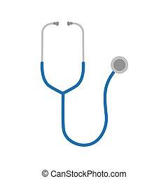 stethoscope icon- vector illustration