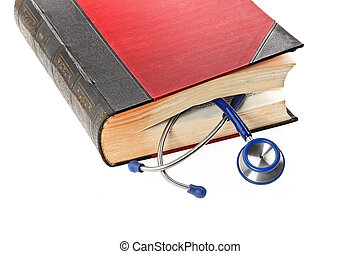 Stethoscope is a medical book