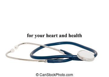 Stethoscope Isolated With A Clipping Path