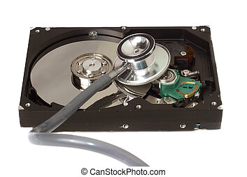 Stethoscope on Hard Disk Drive