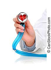 stethoscope.