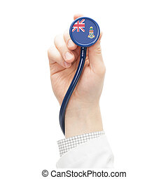 Stethoscope with flag series - Cayman Islands