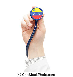 Stethoscope with flag series - Venezuela - Stethoscope with...