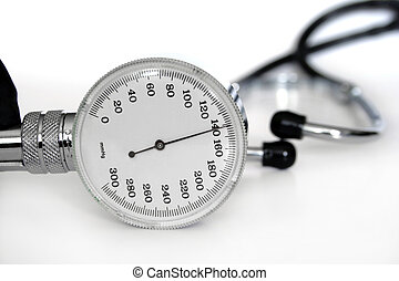 stethoskop, messen, blutdruck