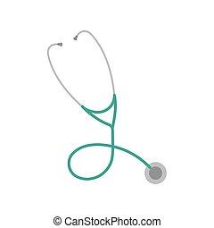 stetoscopio, icona