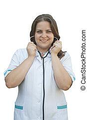 stetoskop, doktor