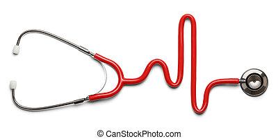 stetoskop, puls