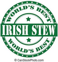 stew-label, irlandês
