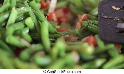 stew with asparagus beans - asparagus beans stew with...