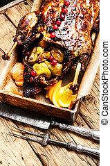 Stewed duck food