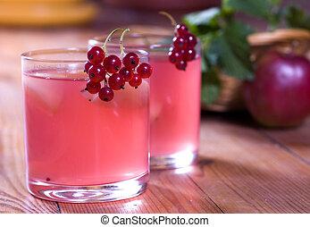Fresh summer vitaminous beverage
