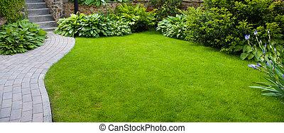 sti have, hos, græs