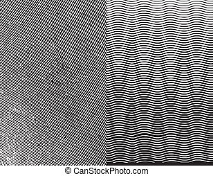 stich, vektor, texture., abbildung