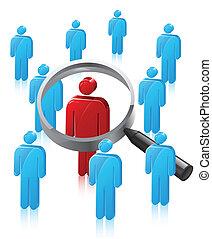 Stick Man Person Search