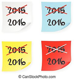 Stick note 2015 2016