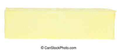 Stick of Butter - A stock photo of a stick of butter set...