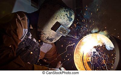 stick welding - craftsman stick welding