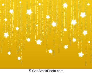 stickande, stjärnor