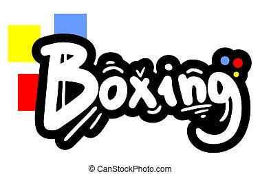 Sticker boxing