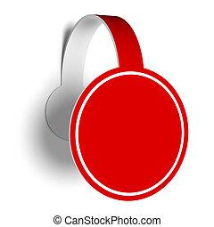 Sticker for promotion. - A 3d illustration of sticker for ...