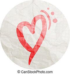 Sticker heart