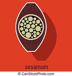 Sticker Illustration of the normal Sesamoid bone. External...