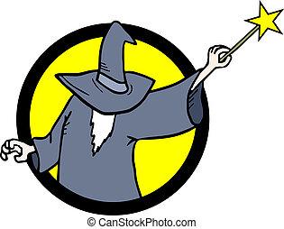 Sticker magician
