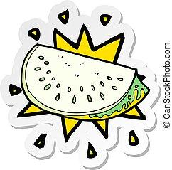 Transparent Eating Watermelon Clipart - Watermelon Slice Png Clipart, Png  Download , Transparent Png Image - PNGitem