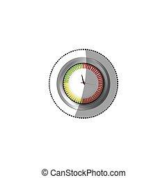 sticker screen chronometer timer counter icon