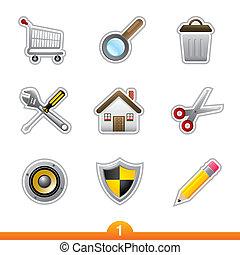 Sticker series 1 - web universal