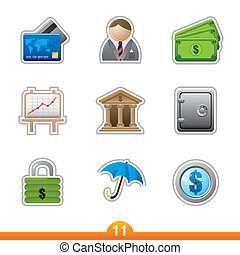 Sticker series 11 - finance