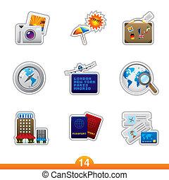 Sticker series 14 - travel