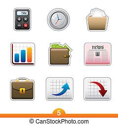 Sticker series 5 - business