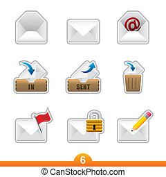 Icon set from a series in my portfolio.