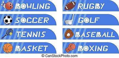 Sticker sport