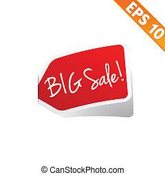 Sticker tag - Vector illustration - EPS10