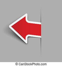 Sticker. Vector illustration. Eps 10.