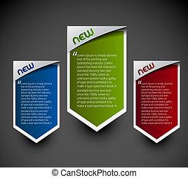 stickers, advertentie, etiketten