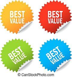 stickers, best, waarde