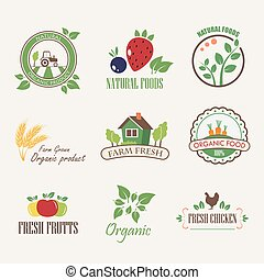 stickers for organic products